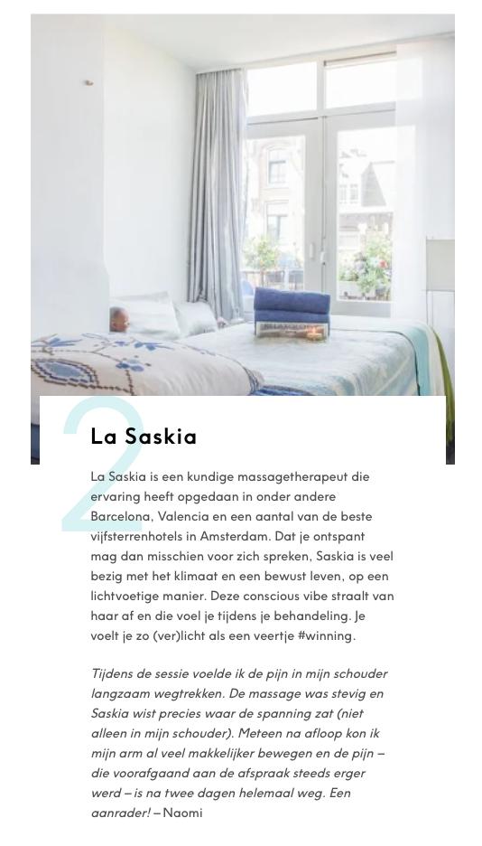 Massage Amsterdam Vegan