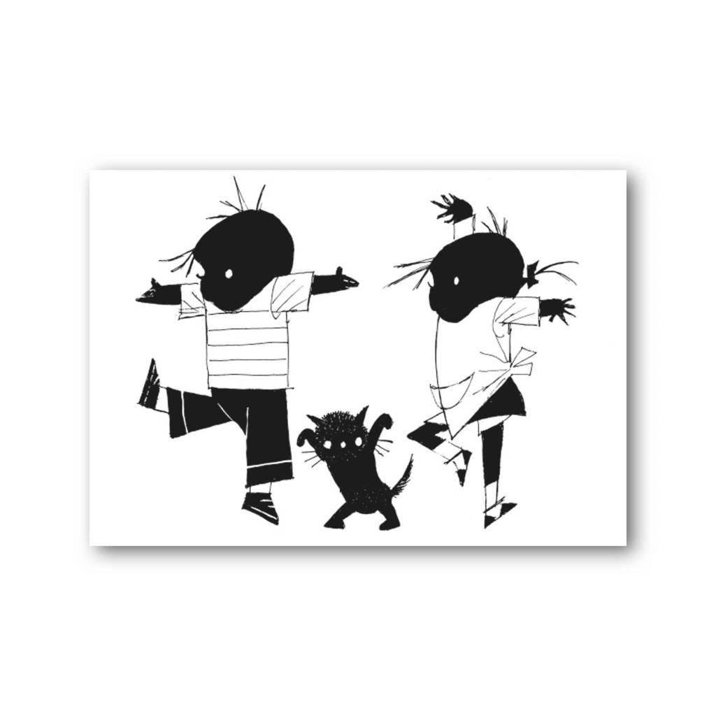 Jip en Janneke en peos dansen Fiep westendorg